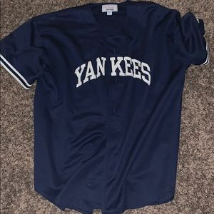 YANKEES BASEBALL JERSEY 100% AUTHENTIC